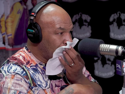Mike Tyson Chokes Back Tears Talking About Night Tupac Was Shot 😓😓😓