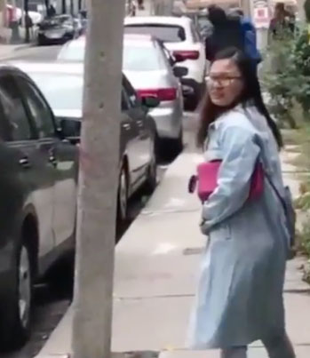 Parking Dispute Gets Physical Downtown Toronto 😂😂😂🔴👑