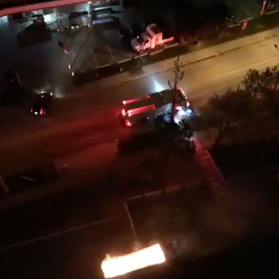 Sauga Man Threw His Cigarette Into A Dumpster Leading To A Fire 🚮🚬👎🏽