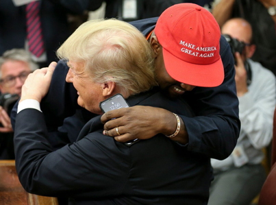 Welcome To The Twilight Zone: Trump Meets Kanye West 🐸👌🏾🇺🇸