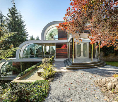 Inspirational Living: $16.8M Architectural Masterpiece In VanCity 💎🏡🇨🇦🔴👑