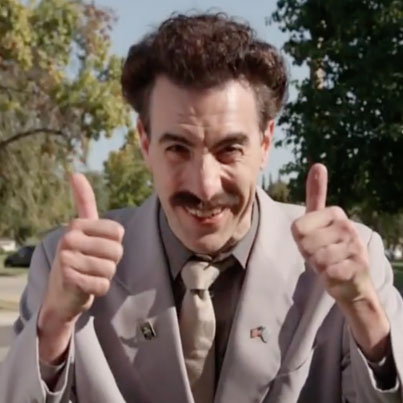 Borat Returns To Meddle With Midterms On 'Kimmel' 😂😂😂