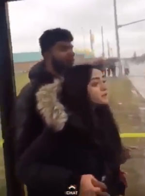Brampton Waste Yutes Pull Up On A Man With His Ting And Leave Him Leaking 😖😖😖