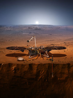 NASA's InSight Successfully Lands On Mars 👽👽👽
