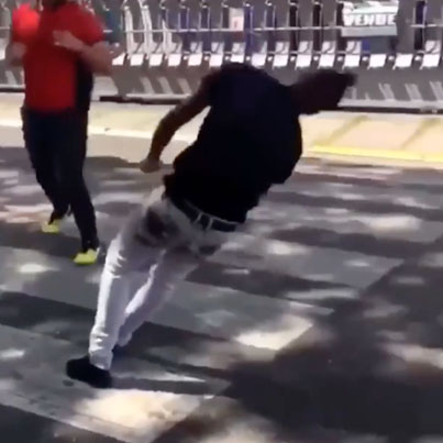 Waste Yute Does The Cha Cha Slide After Getting Put To Sleep 😭😭😭🔴👑