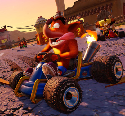Crash Team Racing: Nitro-Fueled (Official Game Reveal Trailer)
