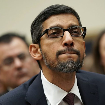 """Google CEO Explains Why Donald Trump Shows Up In """"Idiot"""" Search Results 😂😂😂"""