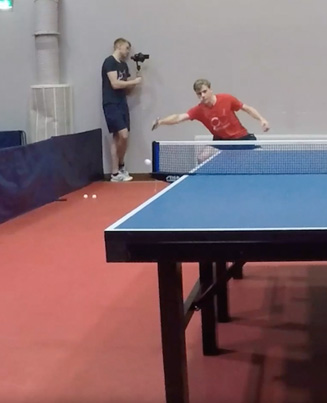 Everything But Net 🙌🔥 Ping Pong Trick Shots 💪😅🔴👑