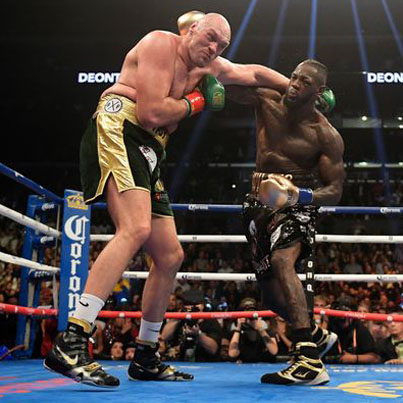 Smh Deontay Wilder & Tyson Fury Heavyweight Title Bout Ends In Draw 💀💀💀🔴👑