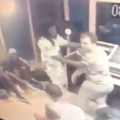 Studio Engineer Slaps A Rapper Silly During A Session 😭😭😭👋🔴👑