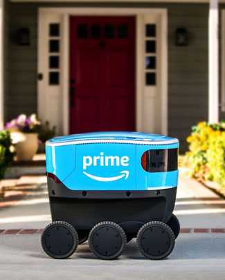 AMAZON Delivery Robots To Roam Seattle Sidewalks 🤔🤔🤔🔴👑