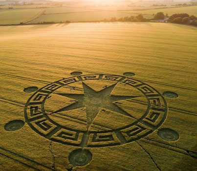 Crop Circle Theorist Thinks The Truth Is Out There 🤔👽🔴👑