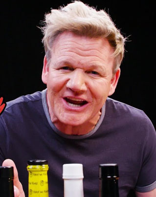 Gordon Ramsay Takes On The 'Hot Ones' Challenge In Season 8 Premiere 😂💀🔴👑