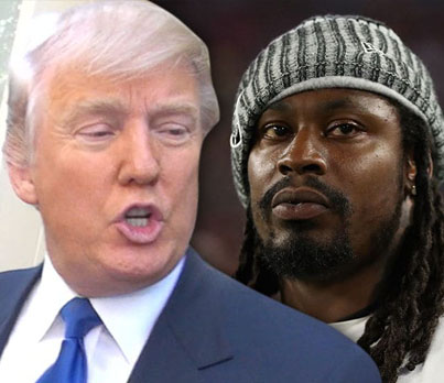 Marshawn Lynch Calls Trump A 'MotherF*****' During Interview 😂😂😂🔴👑
