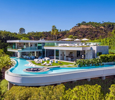 This LA Crib With Crazy Views Is Up For Sale At A Cool $58M 😍🔥👍👏🔴👑