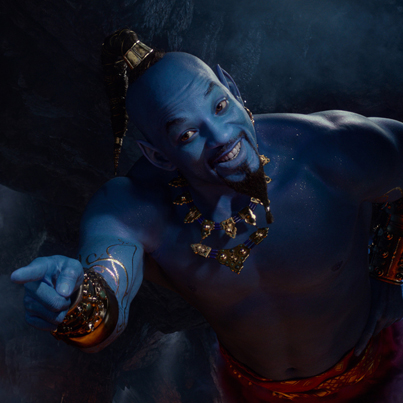 'Aladdin' Movie Faces Backlash For Will Smith's Blue Genie 😔💙🔴👑