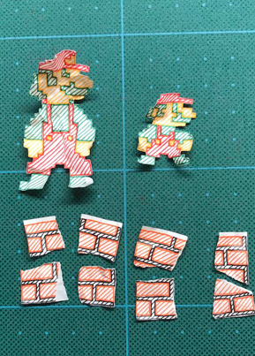 Dope Stop Motion Paper Animation Of The Classic Super Mario Bros. 🔥🙌🔴👑