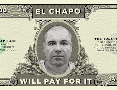 'El Chapo Act' Proposes Seized Drug Money To Pay For Wall 😂🇺🇸👍🔴👑