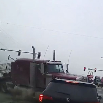 Huge Accident In Abby A Few Days Ago 😳🚚💥🔴👑