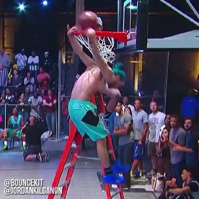 Jheeze This Was Way Better Than The NBA Dunk Contest 👏👀🔴👑