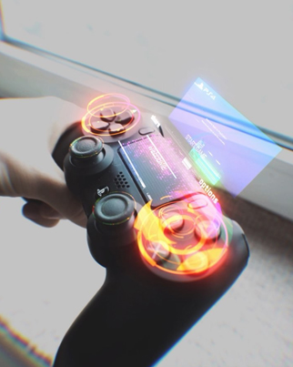 Playstation Controller From The Future 🎮🔥🔴👑