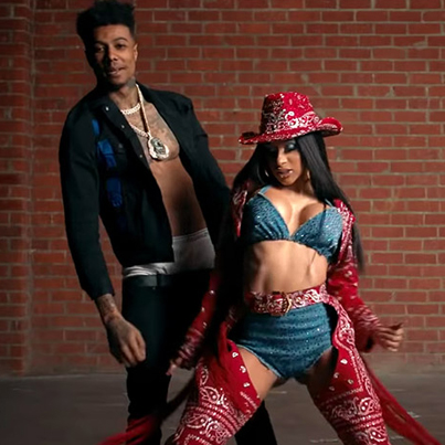 Thotiana Remix by Blueface x Cardi B (Official Music Video)