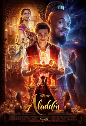 Aladdin (Starring Will Smith) (Official Movie Trailer)