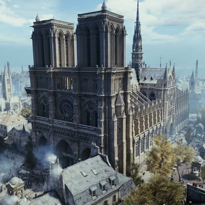 Assassin's Creed Unity Could Help Rebuild Notre Dame Cathedral 👏👏👏