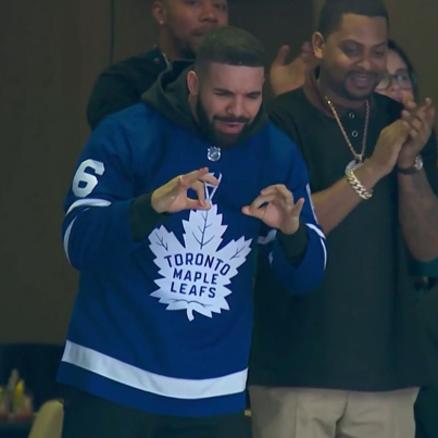Drake Just Cursed The Toronto Maple Leafs Fam 😭😶🏒🔴👑