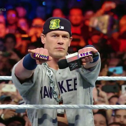 "John Cena Returns As ""The Doctor Of Thuganomics"" At Wrestlemania 35 🐐🐐🐐🔴👑"