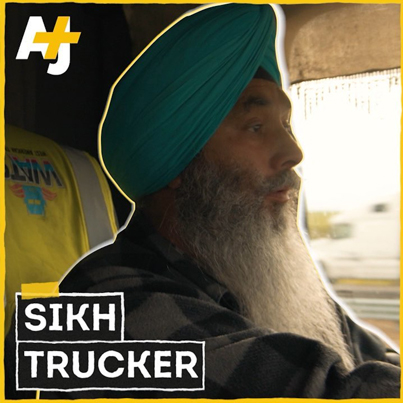 Life As A Turban-Wearing American Trucker 🚛👳🏿❤️🙏
