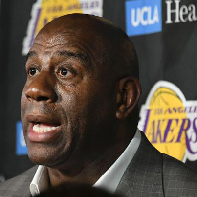 Magic Johnson Steps Down As Los Angeles Lakers President 🏀😂🔴👑