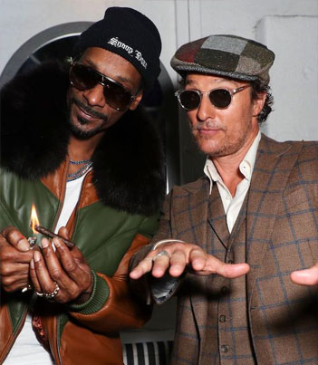 Matthew McConaughey & Snoop Dogg Speak On Getting High & Working Together 😂🍃