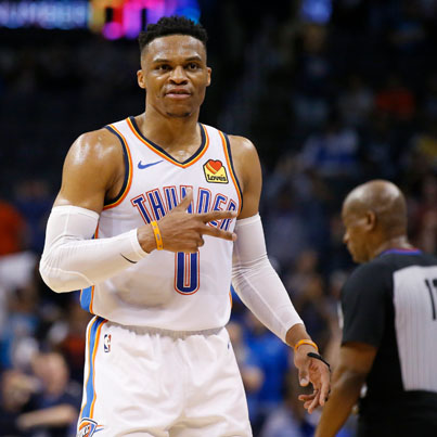 Russell Westbrook Dedicates His Historic Performance To The Late Nipsey Hussle 💙🏁