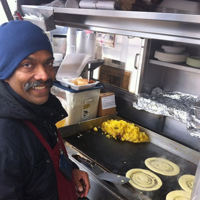 The Legendary Dosa Man Of NYC 🙏👌👍🔴👑