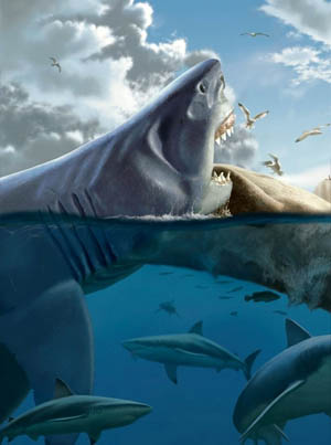 The Terrifying True Scale Of Megalodon Visualized 😱👀