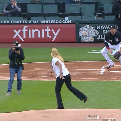 50 Cent If Off The Hook: This Is The Worst First Pitch Ever 😟🎯