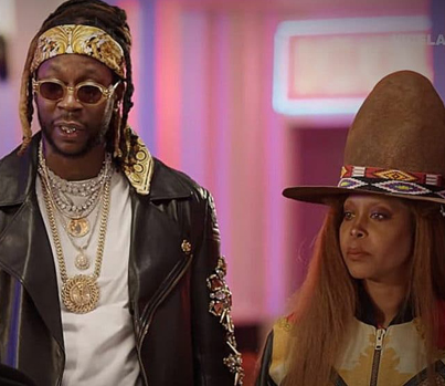 2 Chainz and Erykah Badu Try $5K Cowboy Hats 💯💯💯👍👍