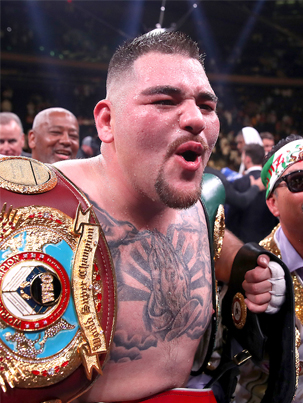 Andy Ruiz Jr. On Becoming The First Mexican Heavyweight Champion 👏👏👏