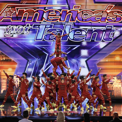 Dance Group From Mumbai Slums Gets Bare Ratings From 'America's Got Talent' Judges 🔥🔥🔥🔴👑