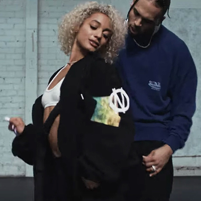 Easy (Remix) by DaniLeigh x Chris Brown (Official Music Video)