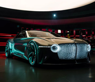 Bentley's New Concept Car Looks Like Something Out Of A Sci-Fi Movie 👀🔥