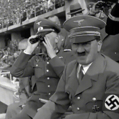 Hitler High On Meth At The 1936 Olympics 🤔🤔🤔