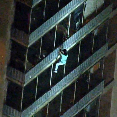 Philly Man Scales 19 Story Burning Apartment To Save His Mom 💪🏽💪🏽💪🏽
