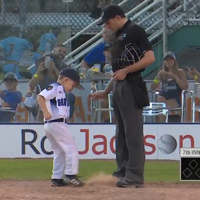 This 6-Year-Old Coach LOST IT On This Ump 😭😭😭🔴👑
