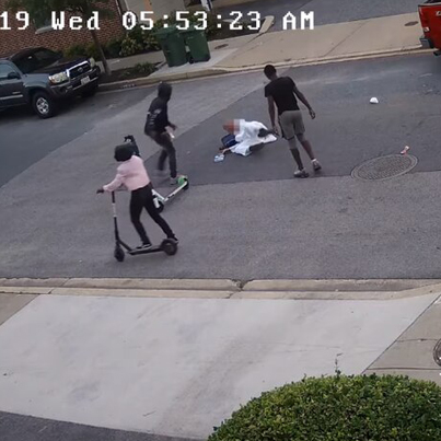 3 Waste Yutes Beat & Rob A 59-Year-Old Muslim Man In Baltimore 😤😡🇺🇸
