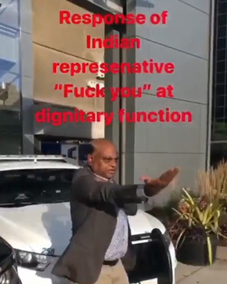 Indian Embassy Representative Responds To Protestors In Ottawa 😭🇨🇦🇮🇳🔴👑