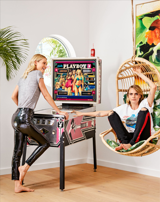 Inside Cara And Poppy Delevingne's Jungle-Themed Home ❤️🚀