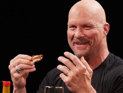 Stone Cold Steve Austin Puts The Stunner On Spicy Wings 🍺😂💯