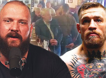 YouTuber True Geordie Reacts To Conor McGregor Punching Old Man 😖😅🔴👑